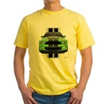 New Mustang Green Yellow T-Shirt