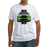 New Mustang Green Fitted T-Shirt