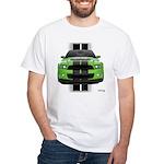 New Mustang Green White T-Shirt