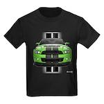 New Mustang Green Kids Dark T-Shirt