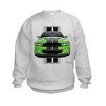 New Mustang Green Kids Sweatshirt