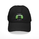 New Mustang Green Black Cap