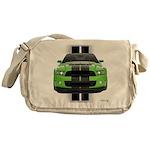 New Mustang Green Messenger Bag