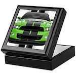 New Mustang Green Keepsake Box