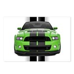 New Mustang Green Postcards (Package of 8)