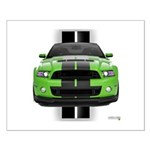 New Mustang Green Small Poster