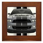 New Mustang GT Gray Framed Tile