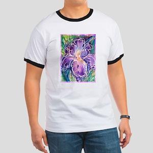 Iris, floral, art, Ringer T