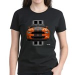 New Mustang GT Orange Women's Dark T-Shirt