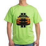 New Mustang GT Orange Green T-Shirt