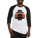 New Mustang GT Orange Baseball Jersey