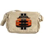 New Mustang GT Orange Messenger Bag