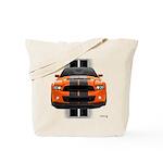 New Mustang GT Orange Tote Bag