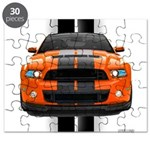 New Mustang GT Orange Puzzle
