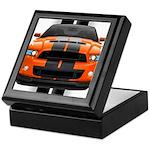 New Mustang GT Orange Keepsake Box