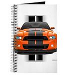 New Mustang GT Orange Journal