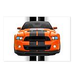 New Mustang GT Orange Postcards (Package of 8)