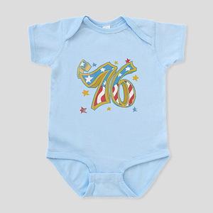'76 USA Infant Bodysuit