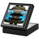 New Mustang Blue Keepsake Box
