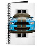 New Mustang Blue Journal