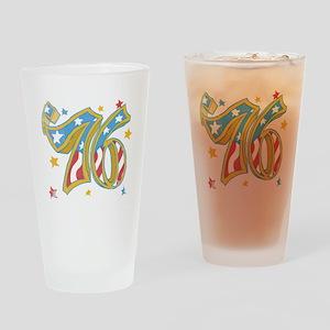 '76 USA Drinking Glass