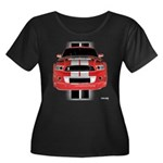 New Mustang GTR Women's Plus Size Scoop Neck Dark