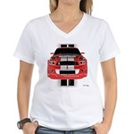 New Mustang GTR Women's V-Neck T-Shirt