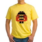 New Mustang GTR Yellow T-Shirt