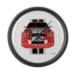 New Mustang GTR Large Wall Clock