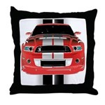 New Mustang GTR Throw Pillow