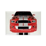 New Mustang GTR Rectangle Magnet (100 pack)