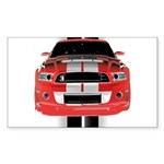 New Mustang GTR Sticker (Rectangle 10 pk)