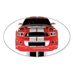 New Mustang GTR Sticker (Oval 10 pk)