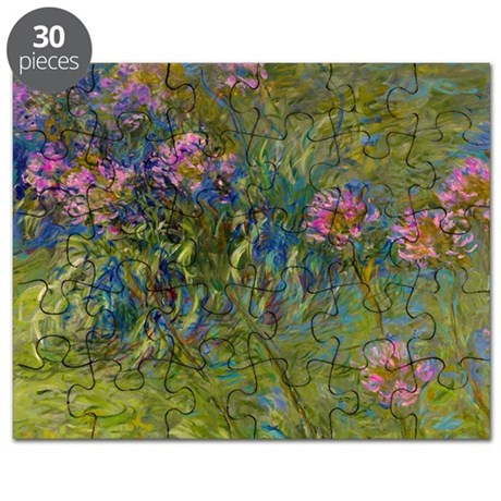 Monet - Agapanthus Puzzle