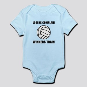 Volleyball Winners Train Infant Bodysuit