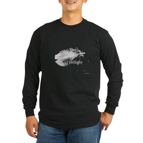 Twilight Feather by Twibaby Long Sleeve Dark T-Shi