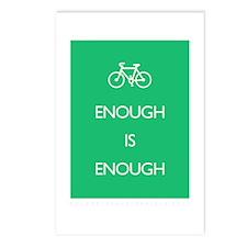 Enough Is Enough var Bike Postcards (Package of 8)