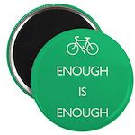 Enough Is Enough var Bike Magnet