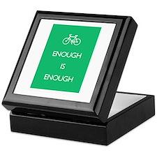 Enough Is Enough var Bike Keepsake Box