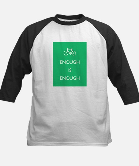 Enough Is Enough var Bike Kids Baseball Jersey