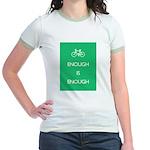 Enough Is Enough var Bike Jr. Ringer T-Shirt
