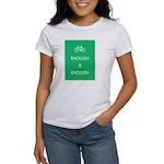 Enough Is Enough var Bike Women's T-Shirt