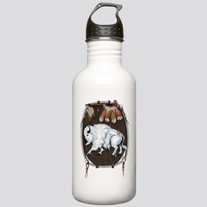 White Buffalo Shield Stainless Water Bottle 1.0L