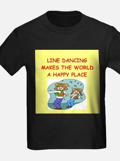 line dancing T
