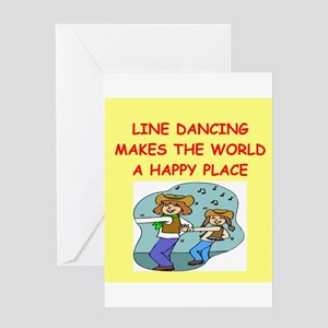 Country line dancing greeting cards cafepress line dancing greeting card m4hsunfo