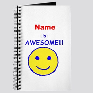 I am Awesome (personalized) Journal