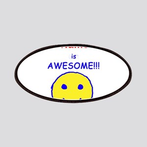 I am Awesome (personalized) Patches