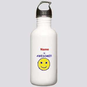 I am Awesome (personalized) Stainless Water Bottle