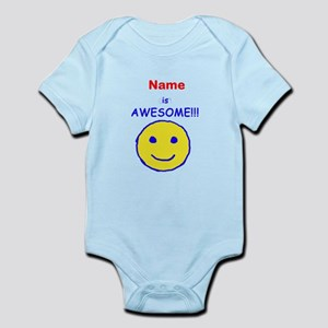 I am Awesome (personalized) Infant Bodysuit