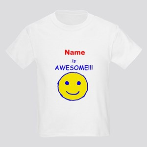 I am Awesome (personalized) Kids Light T-Shirt